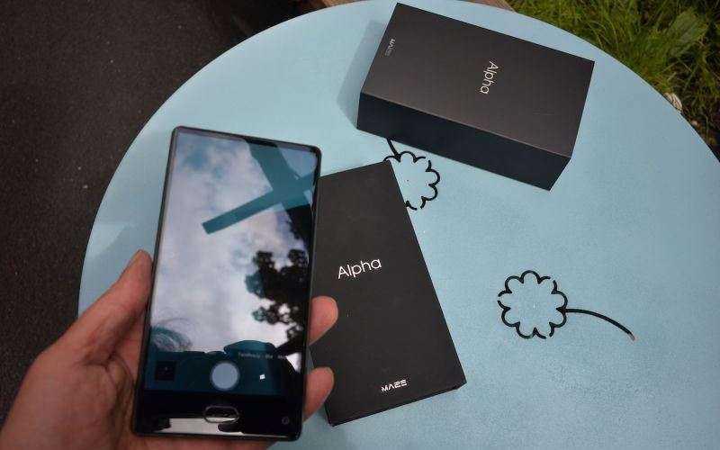 Безрамочный телефон Maze Alpha 4G — Отзывы