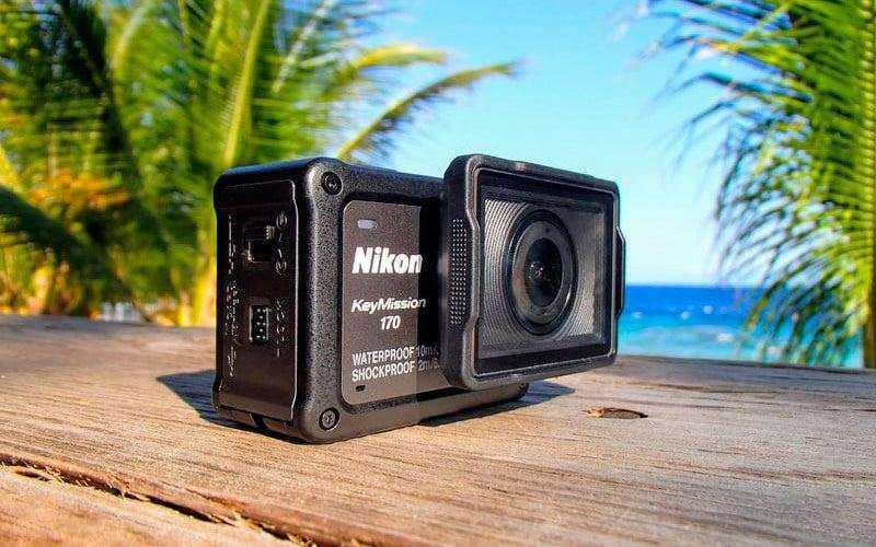 Обзор Nikon KeyMission 170 — Экшн-камеры со стабилизацией и 4K-видео