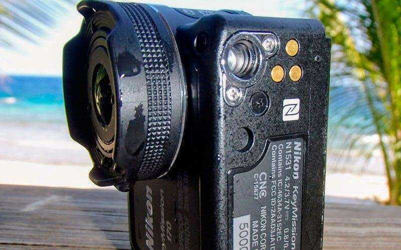 Стабилизация в Nikon KeyMission 170