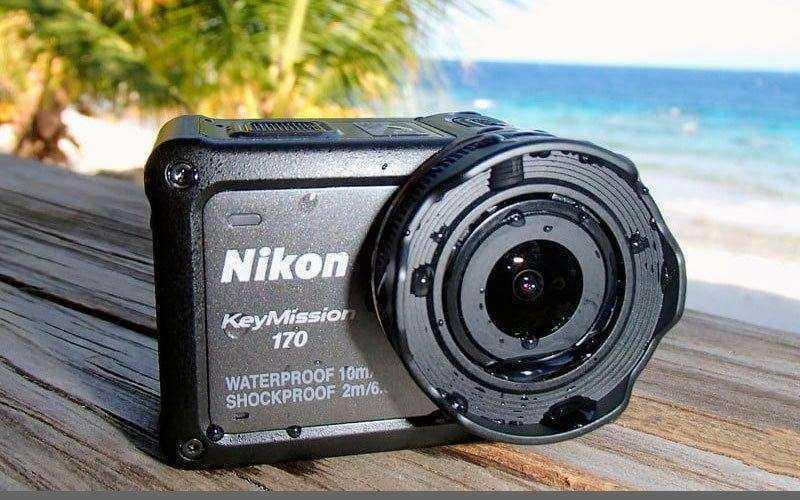 Nikon KeyMission 170 — Обзор экшн-камеры со стабилизацией и 4K