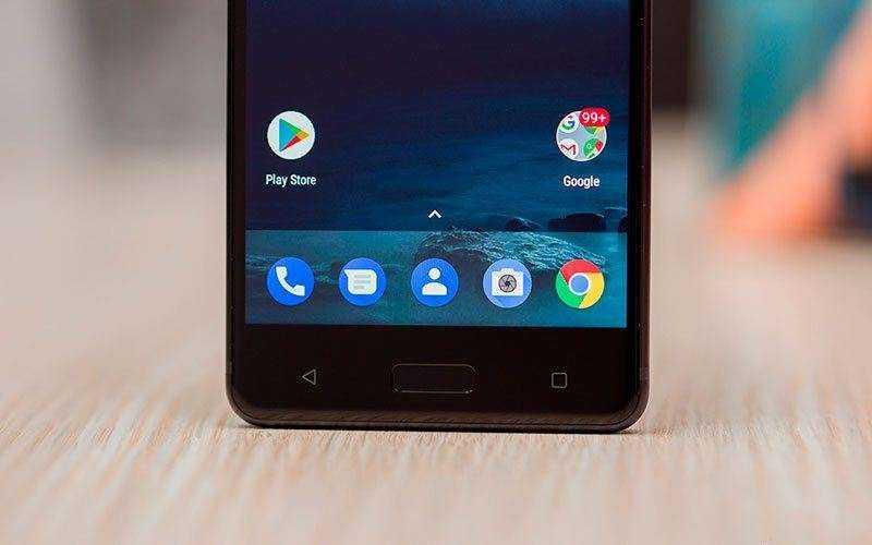 Интерфейс Nokia 5