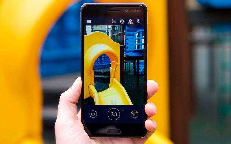 Камера Nokia 6