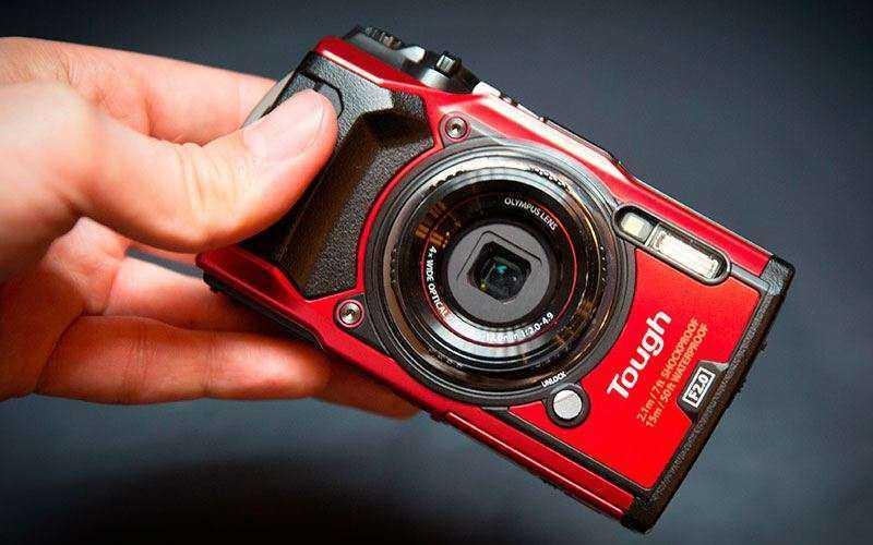 Камера Olympus Tough TG-5