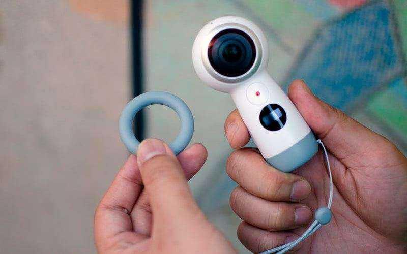 Подставка кольцо Samsung Gear 360 (2017)