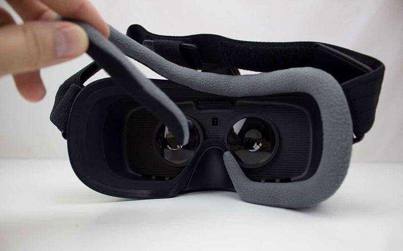Samsung Gear VR 2017 из коробки