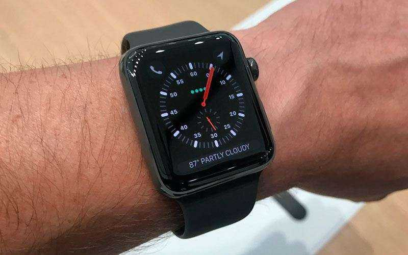 Высотомер Apple Watch 3