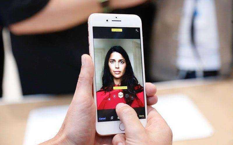 Портретный режим iPhone 8