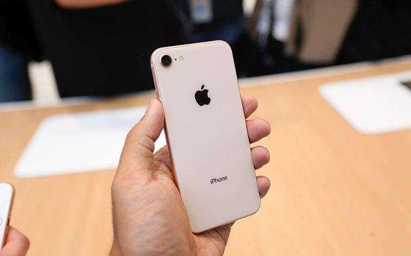 Камера iPhone 8 Plus