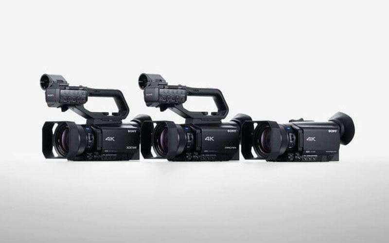 Новые видеокамеры Sony Handycam, NXCAM, XDCAM — Компактное и мощное оборудование для профессионалов