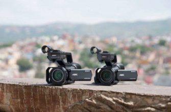 Видеокамеры Sony Handycam, NXCAM, XDCAM — Компактные и мощные