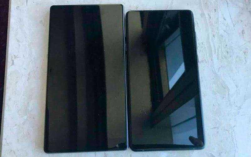 Xiaomi Mi Mix и Xiaomi Mi Mix 2