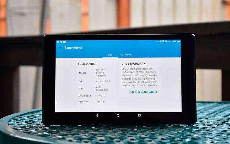 Тестирование Lenovo Tab 4