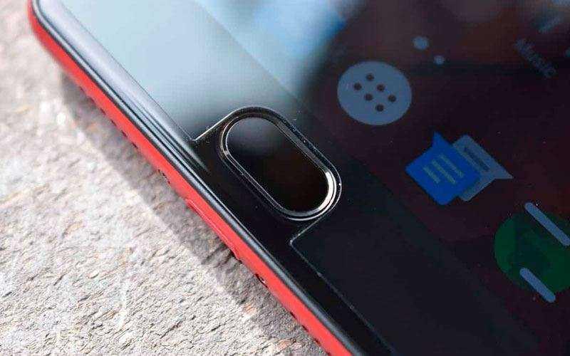 Сканер отпечатка пальца Elephone P8