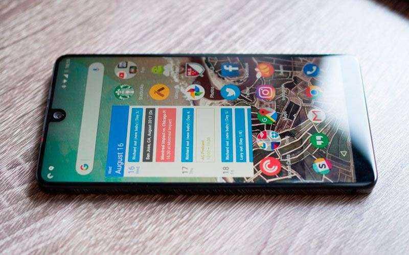 Дизайн Essential Phone