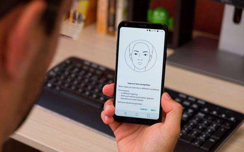 Сканер лица LG Q6