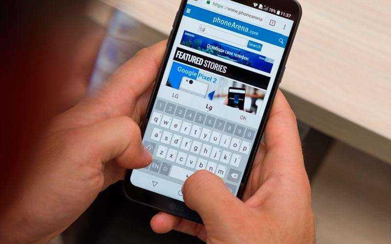 Клавиаура LG Q6