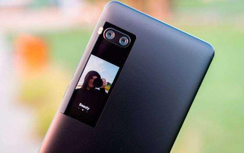 Камера Meizu Pro 7 Plus