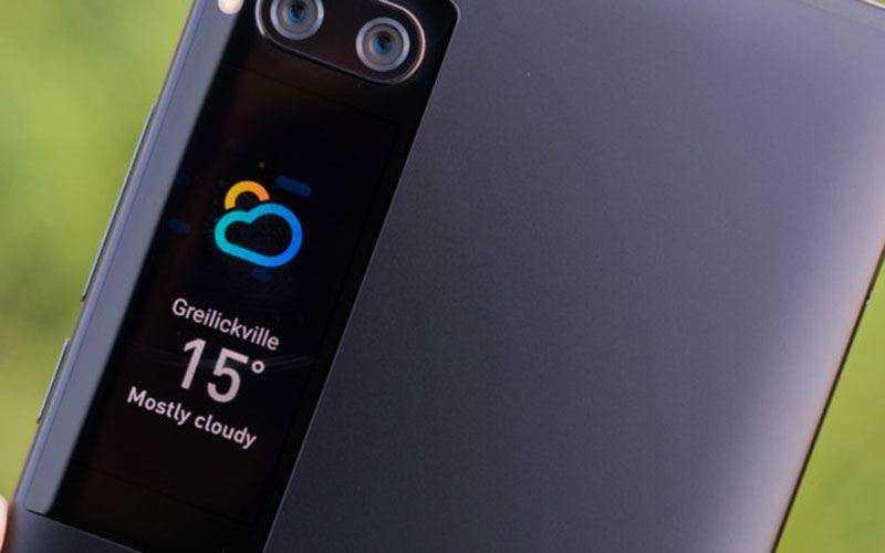 Второй экран Meizu Pro 7 Plus