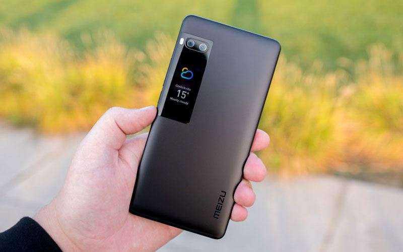 Meizu Pro 7 Plus второй дисплей