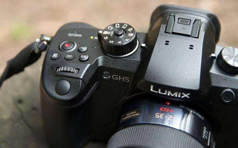Дизайн и управление Panasonic Lumix GH5