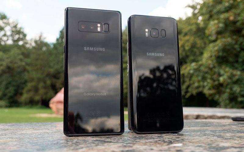 Дизайн Samsung Galaxy Note 8 и Samsung Galaxy S8+