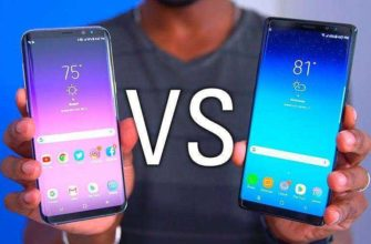 Samsung Galaxy Note 8 vs Galaxy S8+ — Сравнение собратьев