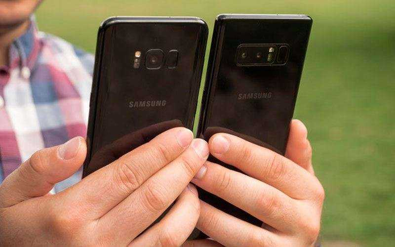 Сравнение камер Galaxy Note 8 vs Galaxy S8+