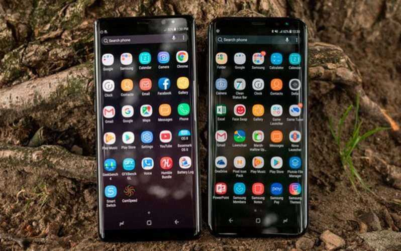 Мультимедиа в Galaxy Note 8 и Galaxy S8+