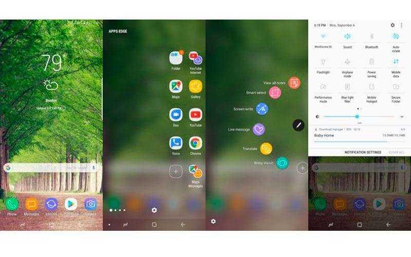 По в Samsung Galaxy Note 8
