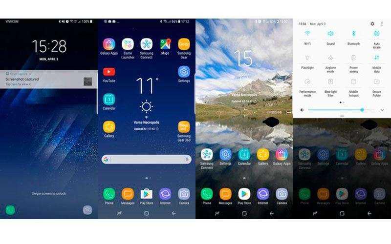 ПО в Samsung Galaxy S8+