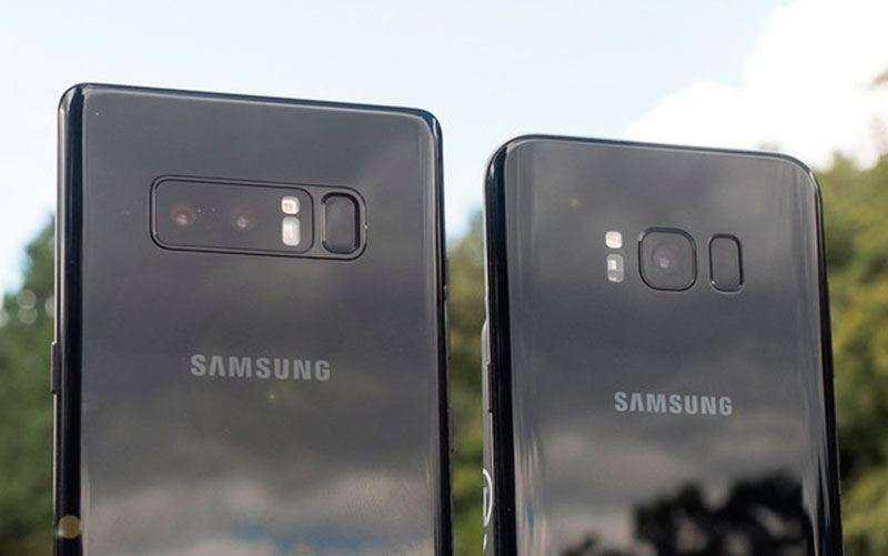 Камера Galaxy Note 8 vs Galaxy S8+