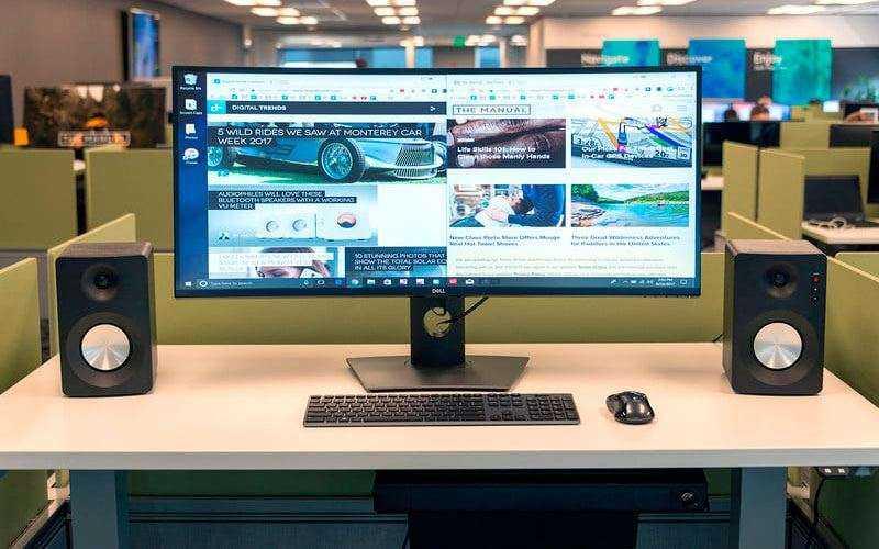 Dell UltraSharp U3818DW — Обзор 4K монитора для работы и игр