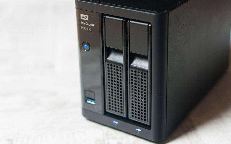 Сетевое хранилище WD My Cloud PR2100 — Отзывы TehnObzor