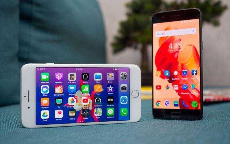 Apple iPhone 8 Plus vs OnePlus 5 — Сравнение двух флагманских смартфонов