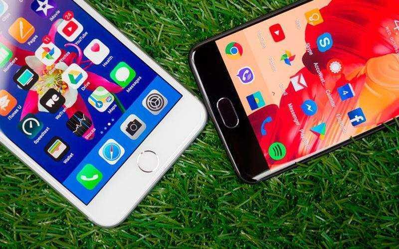 Сравнение Apple iPhone 8 Plus и OnePlus 5