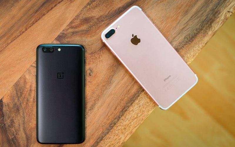 Батарея Apple iPhone 8 Plus и OnePlus 5