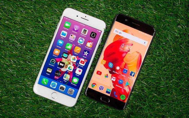 Сравнение Apple iPhone 8 Plus и OnePlus 5 — Двух флагманских смартфонов