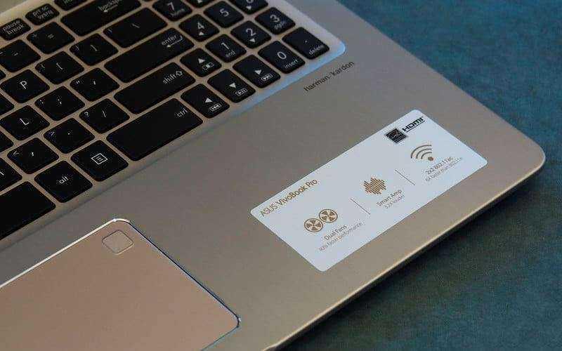 Динамики Asus VivoBook Pro N580 и звук