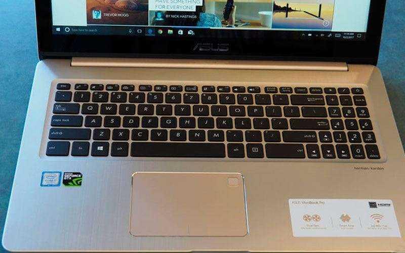 Клавиатура Asus VivoBook Pro N580