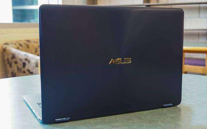Характеристики Asus ZenBook Flip S