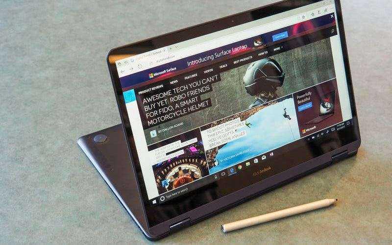 Звук динамиков Asus ZenBook Flip S