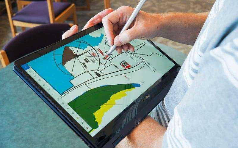 Экран Asus ZenBook Flip S