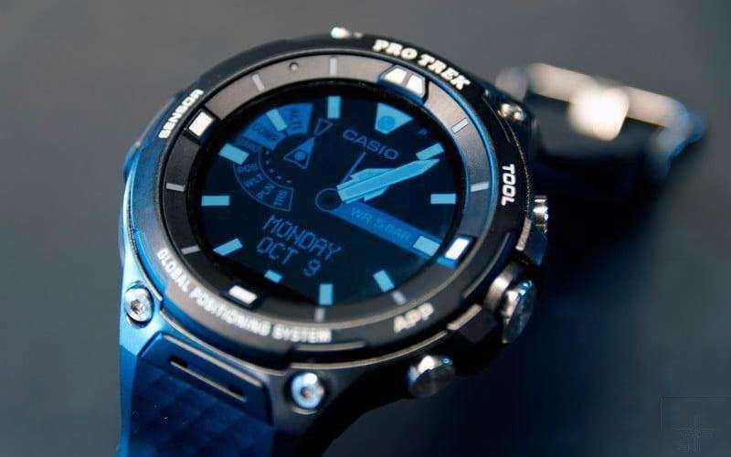 Умные часы Casio Pro Trek Smart WSD-F20 — Отзывы TehnObzor
