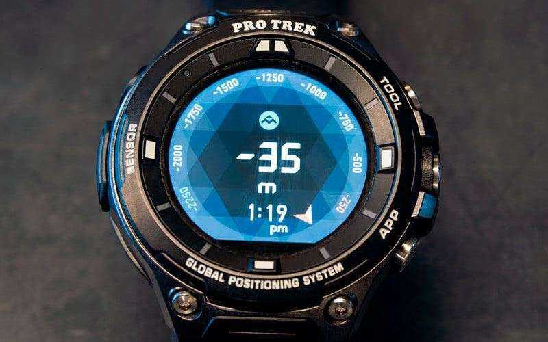 Цена Casio Pro Trek Smart WSD-F20