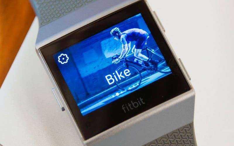 Отслеживание Fitbit Ionic
