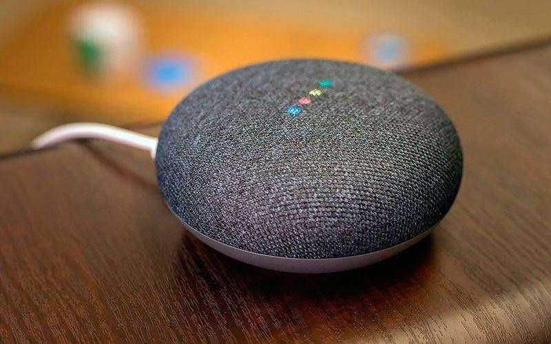 Звук в Google Home Mini