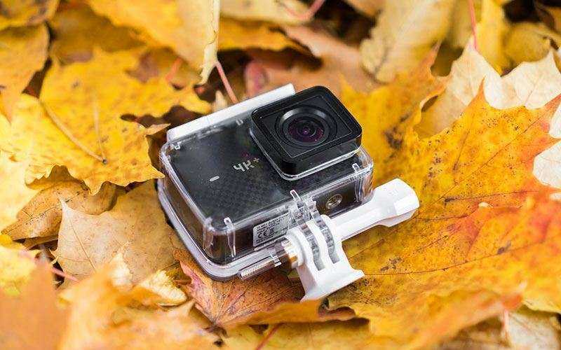 Цена GoPro Hero 6 Black и Xiaomi Yi 4K +