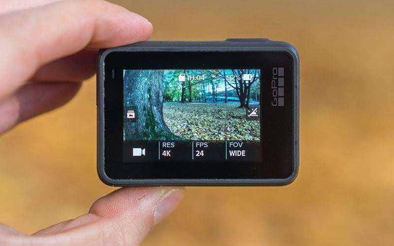 Экраны и элементы управления GoPro Hero 6 Black