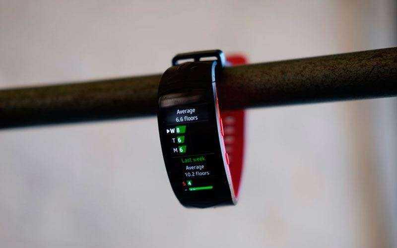 Функции Samsung Gear Fit 2 Pro
