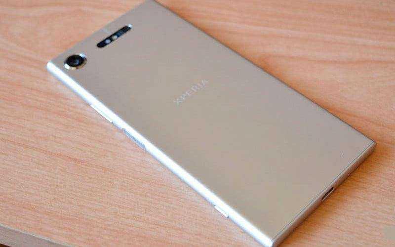 Дизайн Sony Xperia XZ1